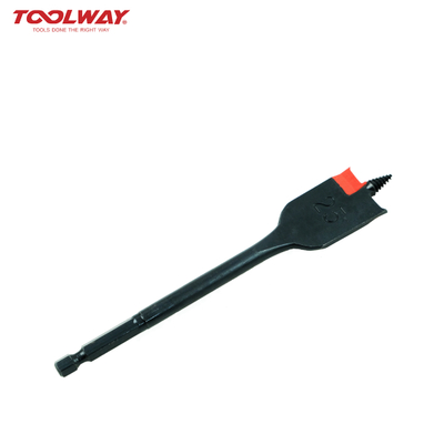 Wood Flat Bit-Screw Tip