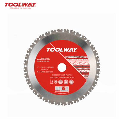multi-purpose mild steel saw blade