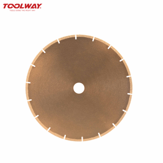 Brazing diamond stone cutting sheet